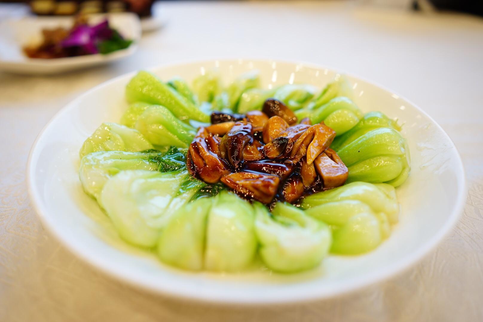 杭州の西湖近くのレストラン楼外楼の料理