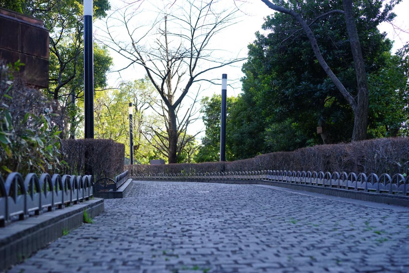 日本恬静的小道